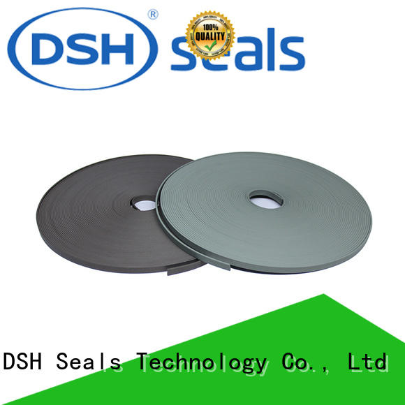 phenolic resin flat teflon wear strips from China for hydraulic industry DSH