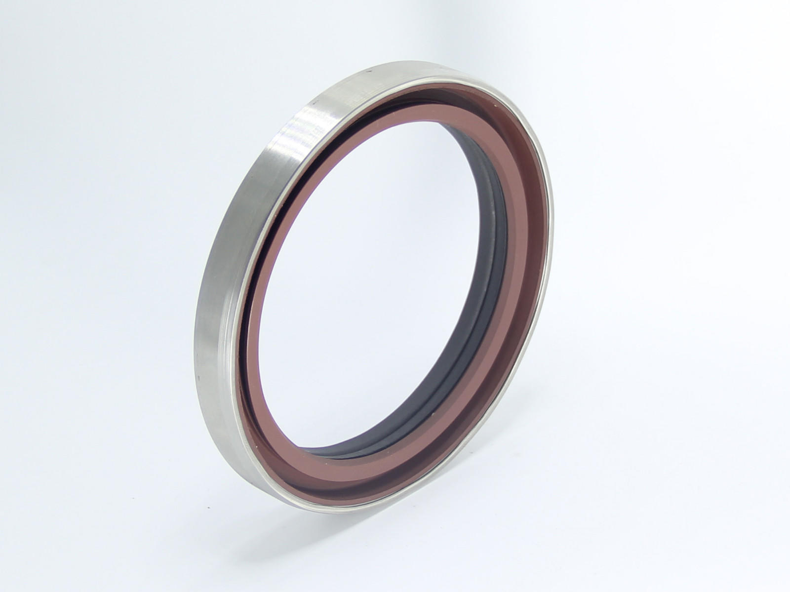 DSH-Shaft Oil Seals Stainless Steel Shaft Thread Double Lip Oil Seal-2