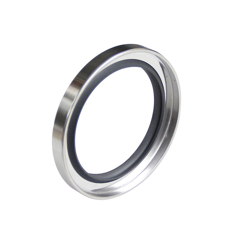 C type-Double lip Stainless Steel PTFE Rotary Oil Seals-