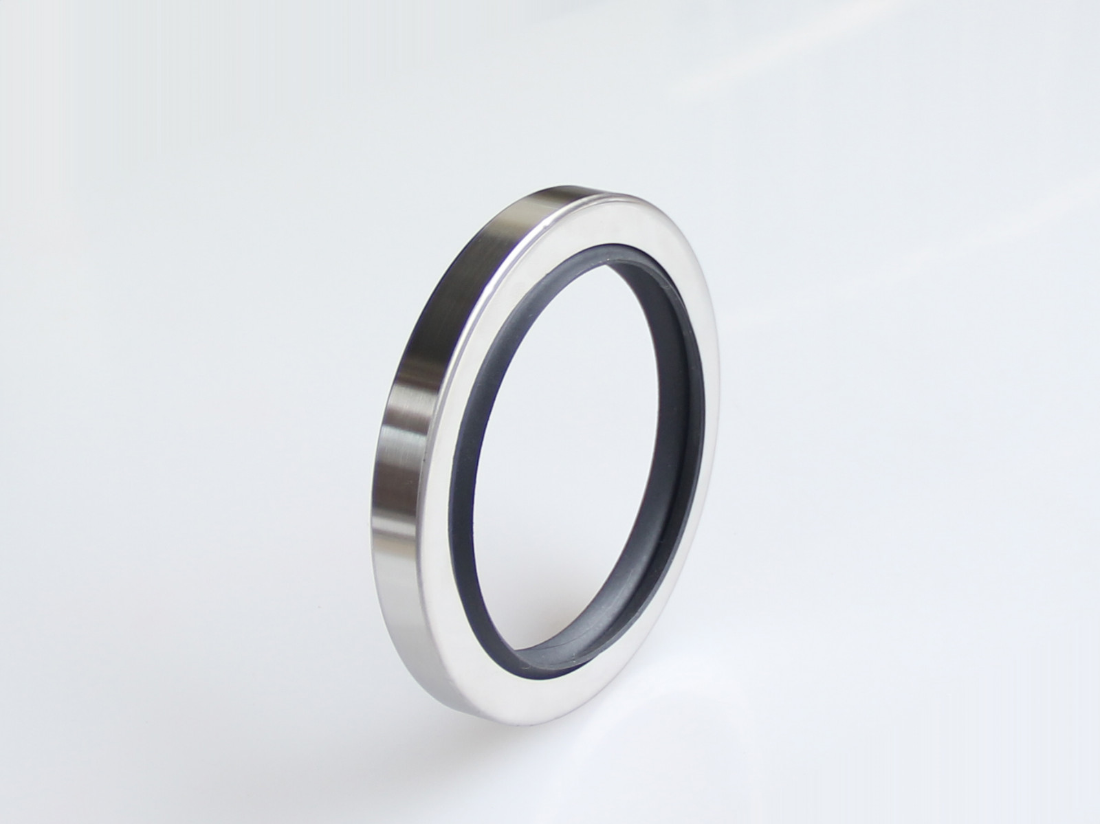DSH-Oil Seals, C Type-double Lip Stainless Steel Ptfe Rotary Oil Seals-2