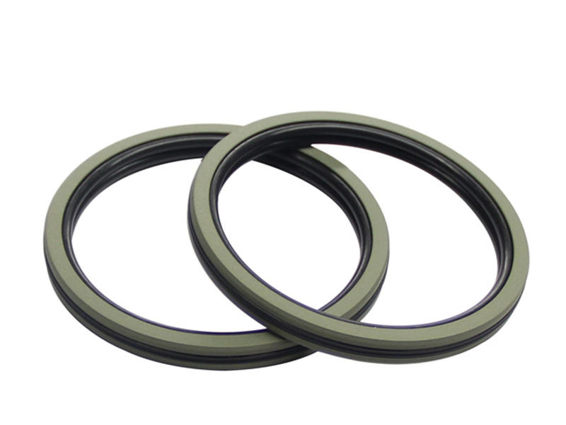 DSH bronze hydraulic piston seals sizes step for machine