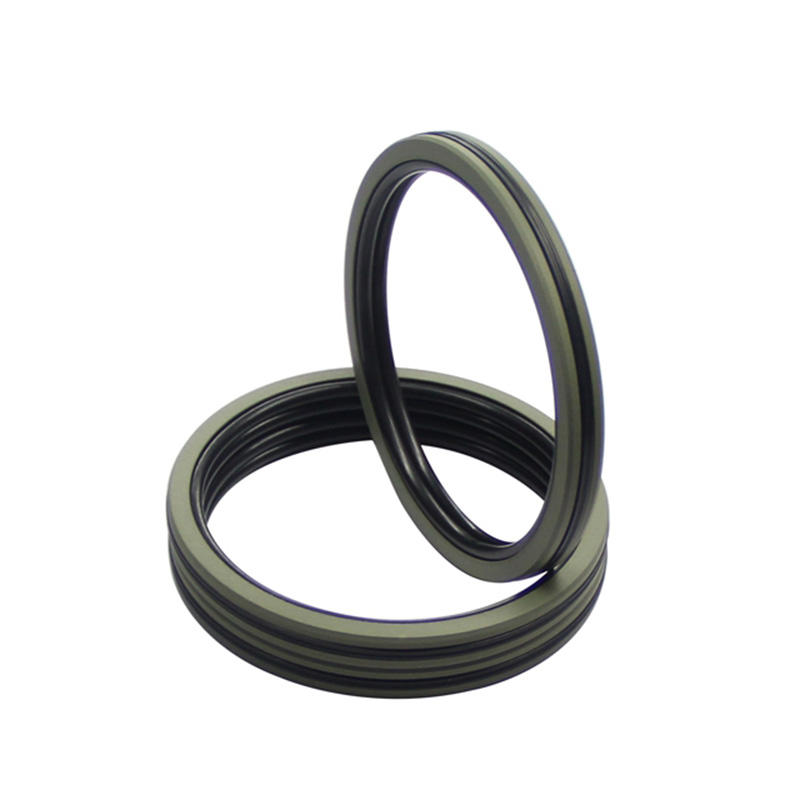 DQF-Bronze Filled PTFE NBR Compact Piston Seal