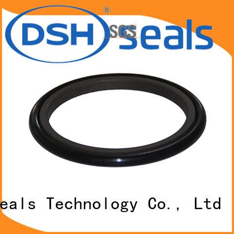 spnobronze cylinder rod wiper customized for machine DSH
