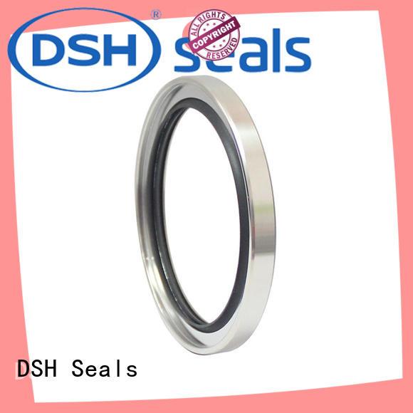 Custom shaft steel oil seals DSH ptfe
