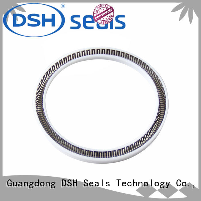 helical spring energized ptfe seal spring wholesale for oil industry