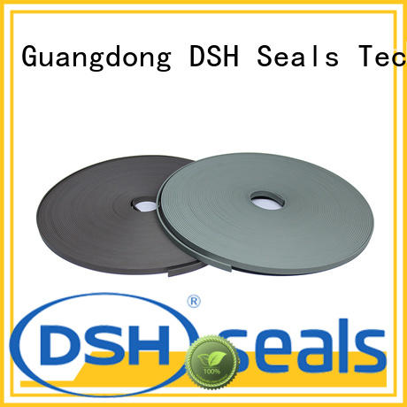 DSH wear ptfe wear strips manufacturer for electric equipment