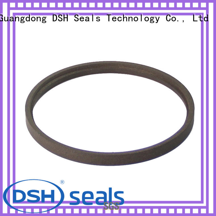 DSH u-cup ptfe rod seal supplier for metallurgical equipment