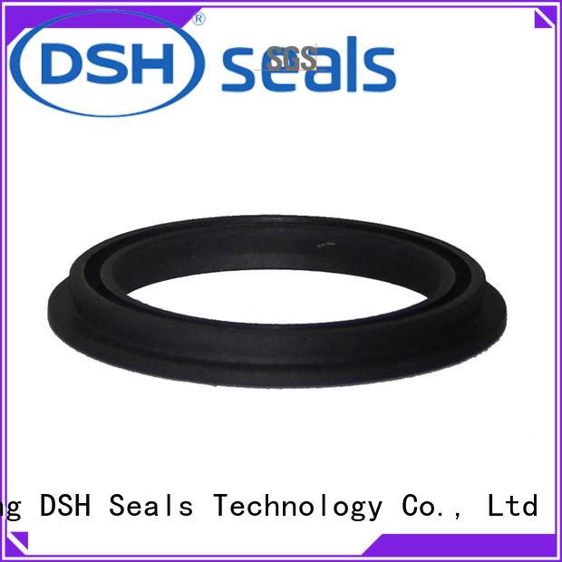 ptcinternal spring energized teflon seals wholesale for pneumatic industry DSH