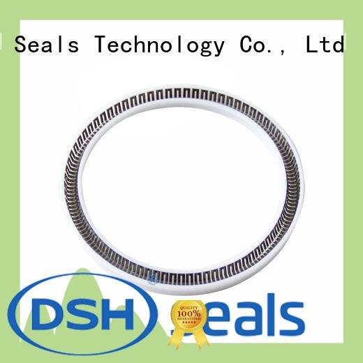 DSH carbon fiber ptfe lip seals elgiloy for oil industry