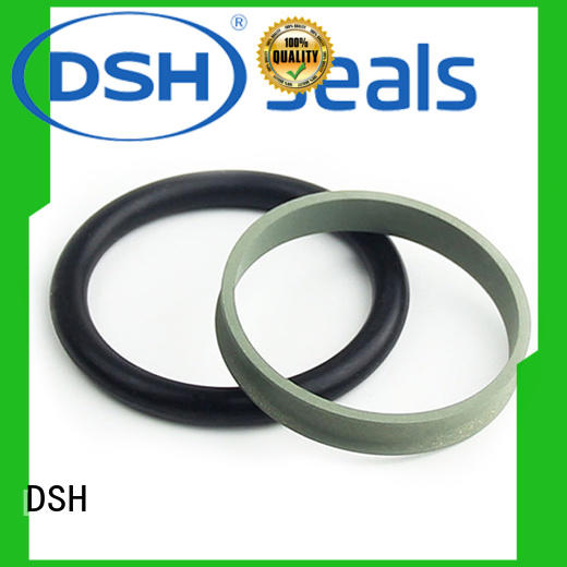 dsjbronze ptfe rod seal customized for guide ring