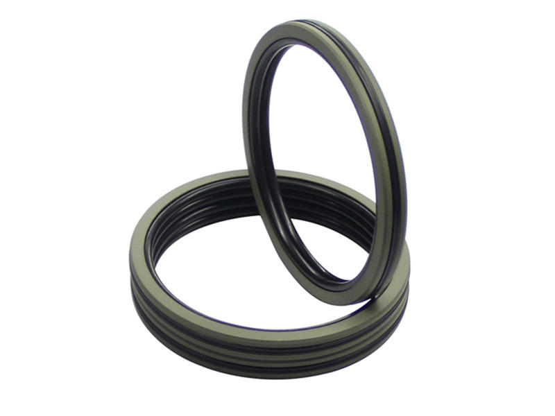 DSH-Pneumatic Piston Seal | Dqf-bronze Filled Ptfe Nbr Compact Seal