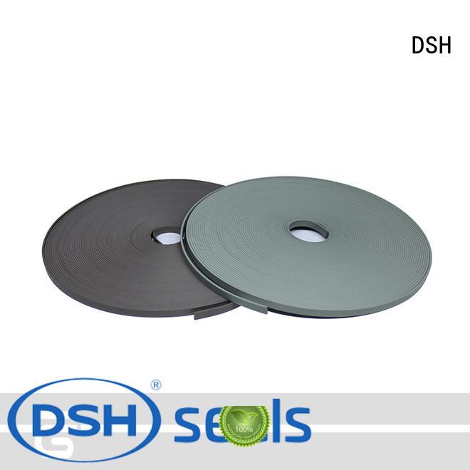 bronze flat teflon wear strips wear for pneumatic industry DSH