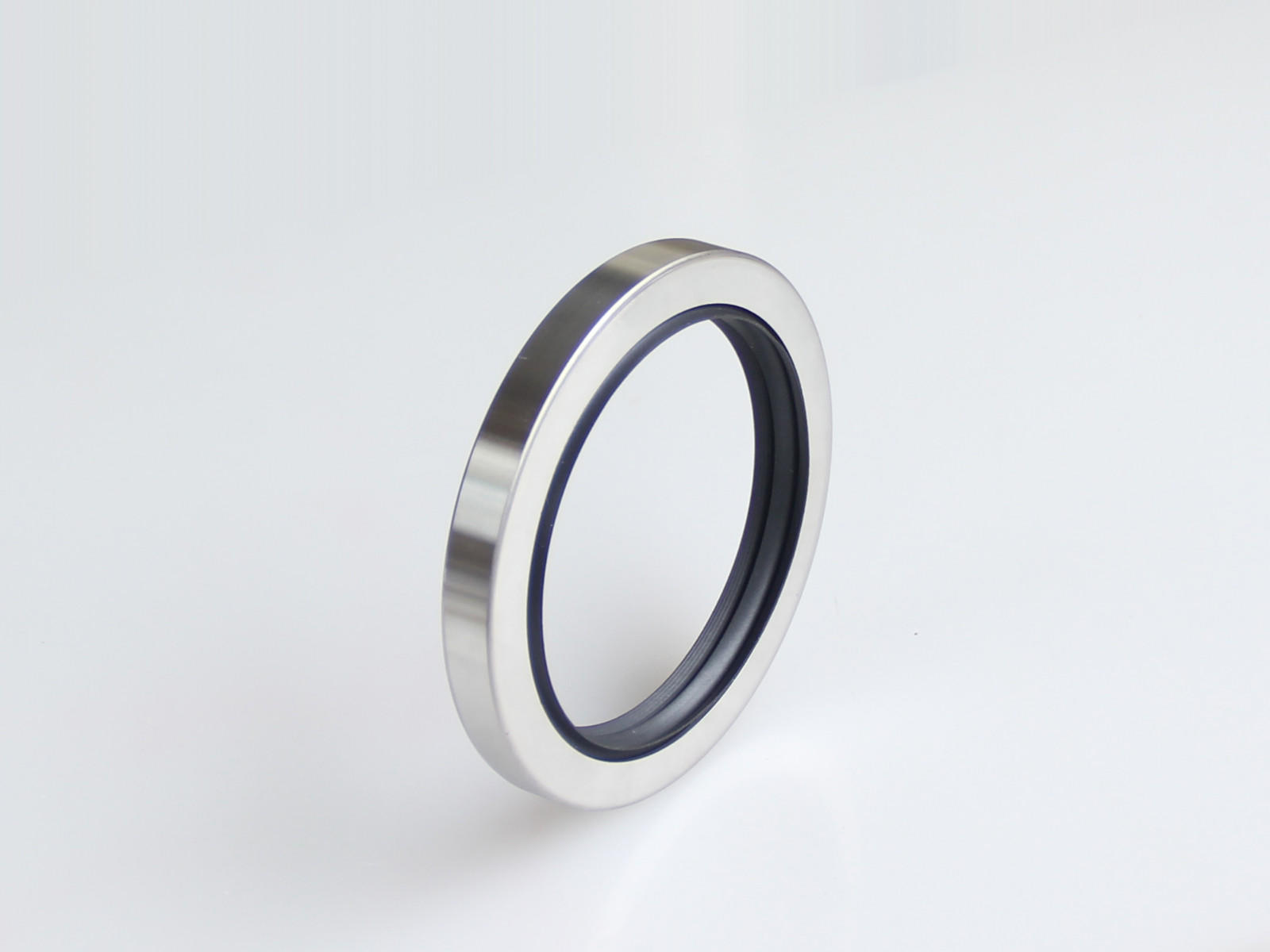 DSH-Shaft Oil Seals | D Type-triple Lip Stainless Steel Rotary PTFE Seal-2