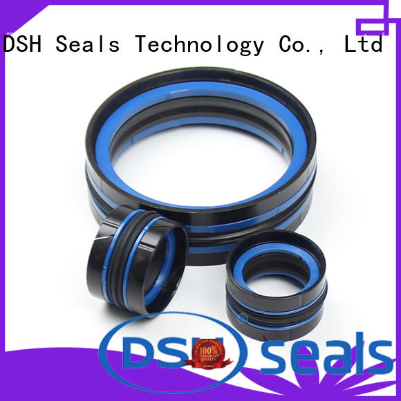 DSH durable hydraulic piston rings design for machine