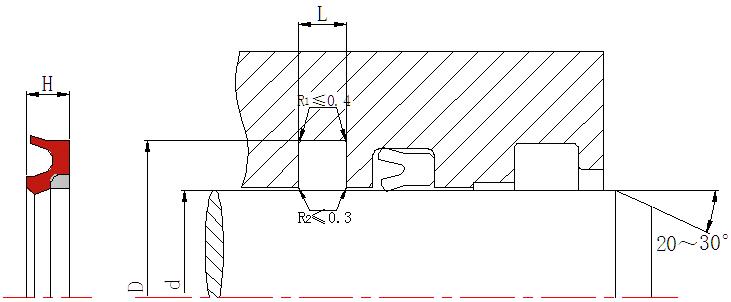 DSH-Find Hydraulic Rod Seals Hby - Hydraulic Rod Seal Buffer Ring-4