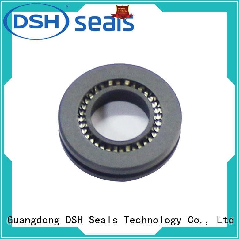 DSH single teflon oil seals low for guide ring