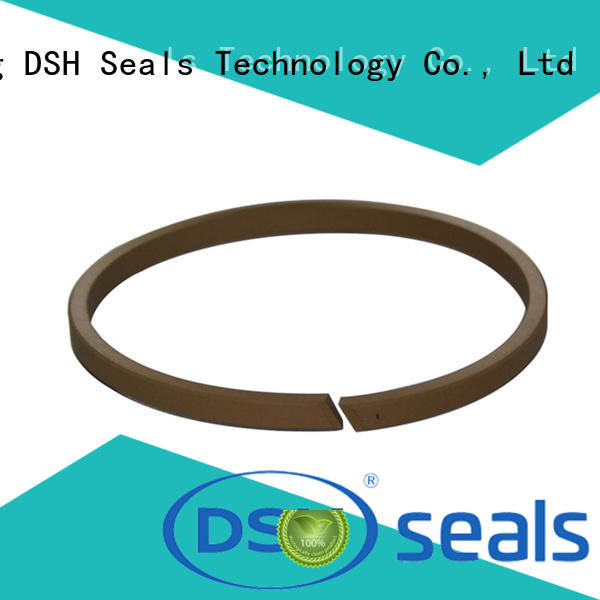 silicone cylinder piston seal bronze for oil industry DSH