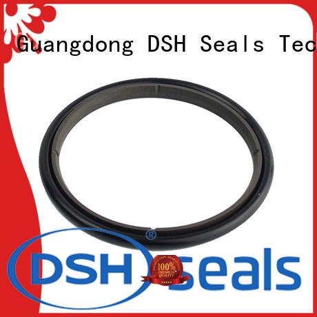 DSH bronze rod seal design for refrigeration equipment