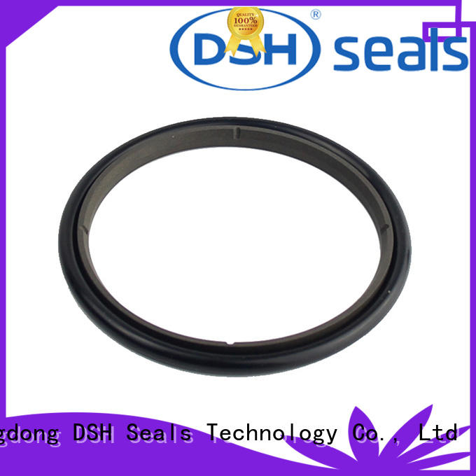 DSH filled ptfe rod seal factory price for metallurgical equipment
