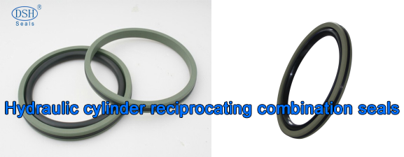 DSH-Hydraulic Cylinder Reciprocating Combination Seals