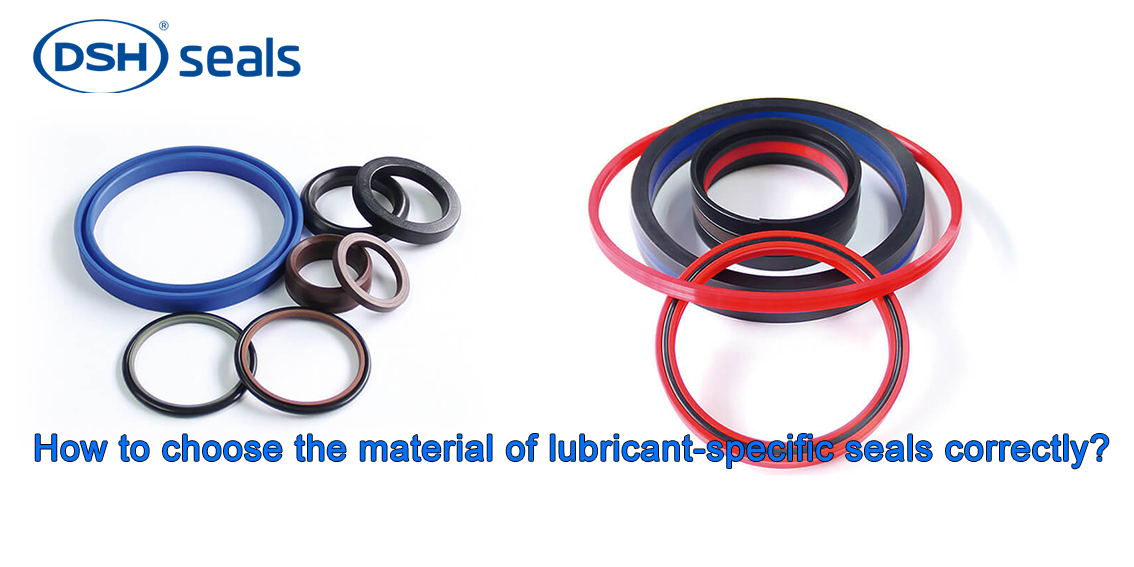DSH-How To Choose The Material Of Lubricant-specific Seals Correctly